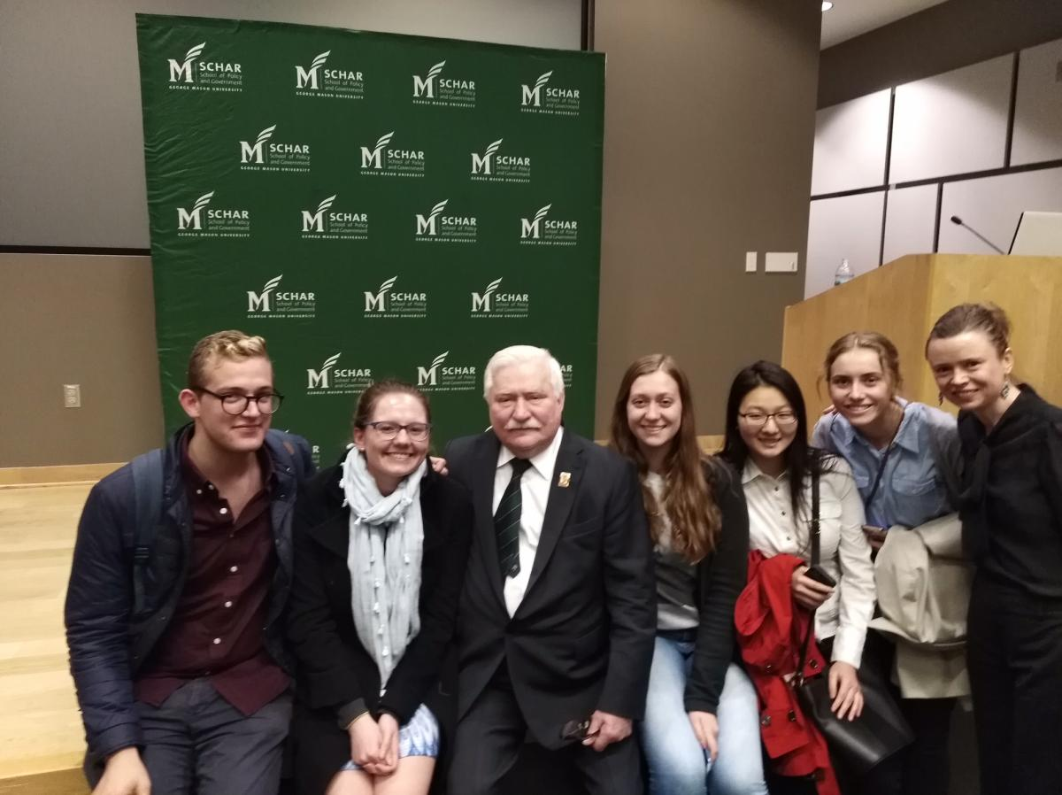 Lecture of Lech Walesa